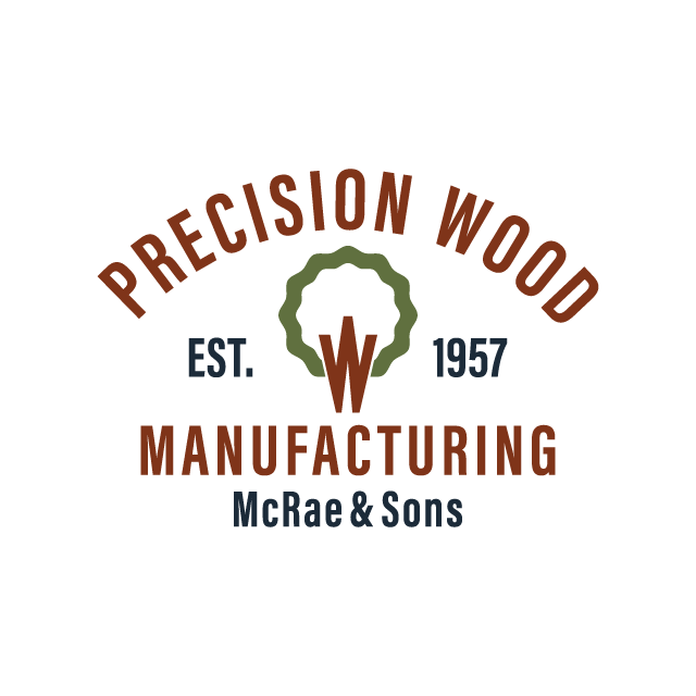 Precision Wood MFG Brand Design title=Precision Wood MFG Brand Design