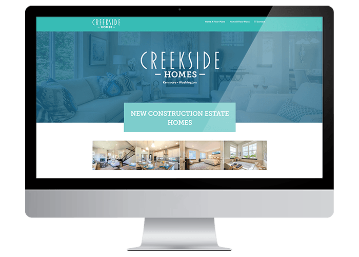 Creekside Homes Wordpress Website title=Creekside Homes Wordpress Website
